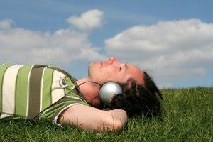 Entspannende Musik